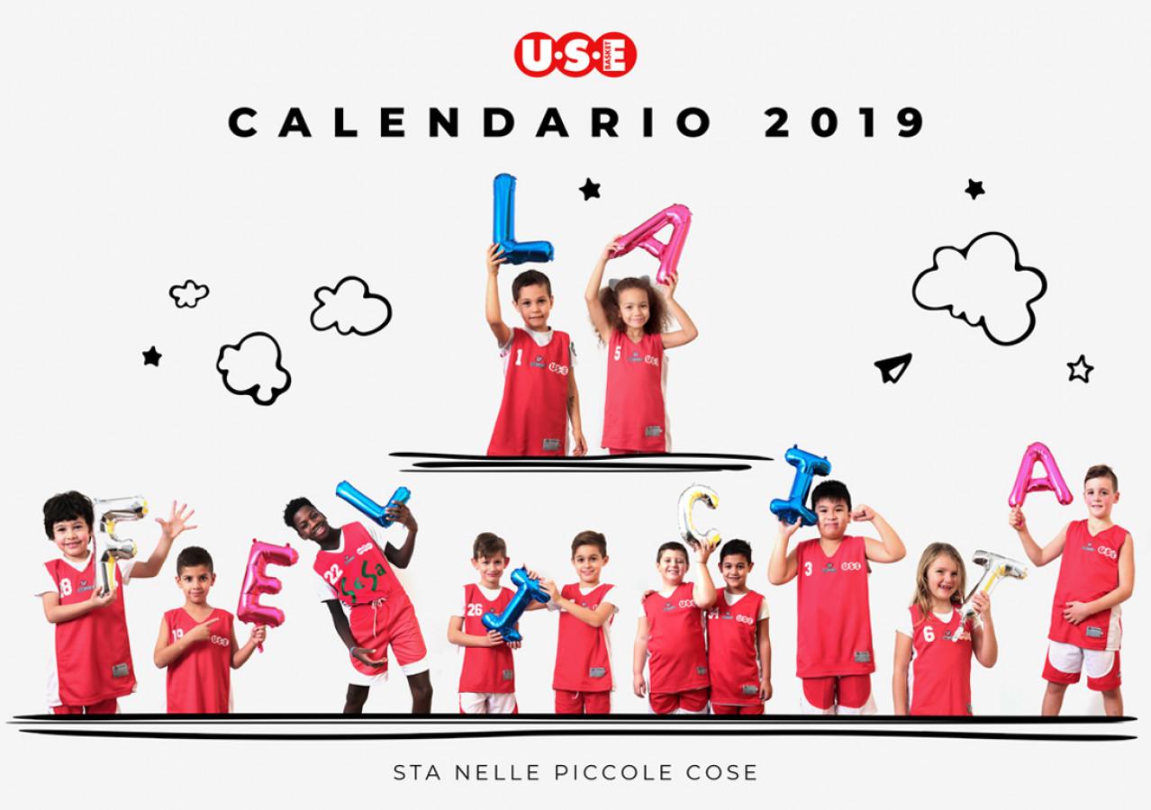 Atleti Calendario.Use Basket Il Calendario Use 2019 Dedicato Alla Felicita